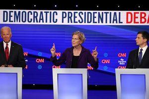 Tranh luận bầu cử, ứng viên đảng Dân chủ đồng loạt lên án Tổng thống Trump
