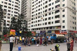 Đã cấp nước trở lại cho hàng trăm ngàn dân Hà Nội