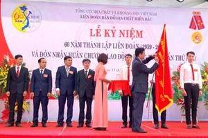 Liên đoàn Bản đồ Địa chất miền Bắc đón nhận Huân chương Lao động hạng Nhất