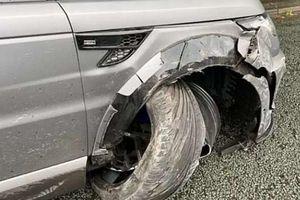 'Sao' Man City thoát chết sau tai nạn xe hơi
