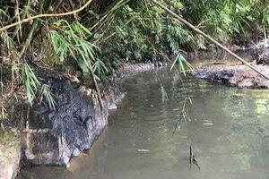 Khởi tố vụ án nước sạch sông Đà nhiễm dầu
