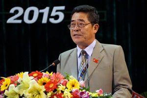 Cho ông Lê Thanh Quang thôi chức Bí thư Khánh Hòa để chữa bệnh