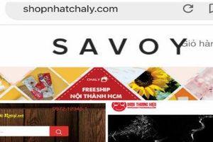 Thận trọng khi mua các sản phẩm hàng hóa tại 3 website này