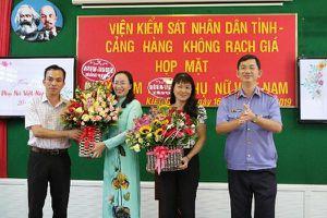 VKSND tỉnh Kiên Giang tổ chức họp mặt kỷ niệm ngày phụ nữ Việt Nam