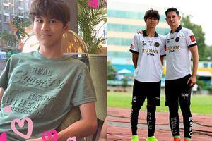 Dân mạng xuýt xoa trước vẻ điển trai và chiều cao lý tưởng ở tuổi 14 của con trai diễn viên Huy Khánh