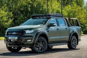 Bất ngờ với xe bán tải Ford Ranger 2019 độ chống đạn