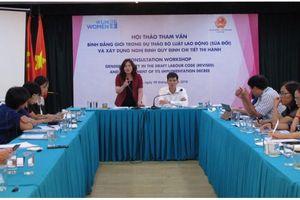 Hội thảo tham vấn về thúc đẩy bình đẳng giới
