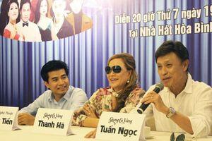 Ca sỹ Tuấn Ngọc - Thanh Hà bật mí về liveshow sắp ra mắt