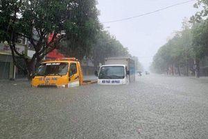 Mưa lớn bao trùm từ Nghệ An đến Phú Yên, nguy cơ lũ quét, sạt lở đất nhiều nơi