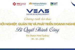 Gần 150 doanh nghiệp Việt Nam tham dự hội thảo khởi nghiệp tại Sydney