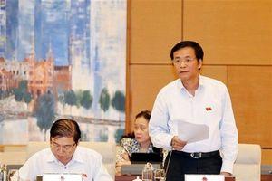 Đề nghị không họp Đoàn ĐBQH đối với dự kiến nhân sự bầu Chủ nhiệm Ủy ban Pháp luật