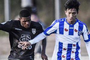 Văn Hậu có thể sớm ra mắt đội một Heerenveen