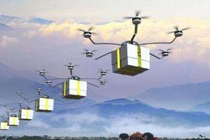 Trung Quốc thí điểm giao hàng bằng máy bay không người lái