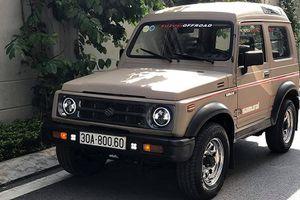 Suzuki Samurai 1993 'đồng nát' chỉ 300 triệu tại Việt Nam