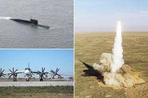 Nga tập trận tên lửa cực lớn phòng ngừa bị đe dọa
