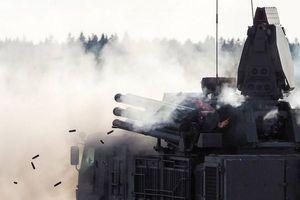 Tập trận ở Crimea, hệ thống phòng thủ Pantsir phá hủy tên lửa 'địch'