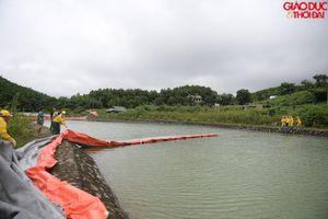 Lắp đặt 20 điểm lưới lọc dầu thải tại hồ Đầm Bài, tiến hành nạo vét suối Trâm