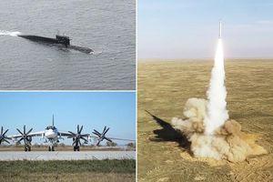 Ông Putin trực tiếp giám sát quân đội Nga thử bộ ba vũ khí hạt nhân