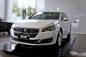 Peugeot 508 giảm giá kỷ lục