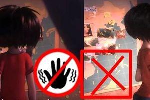 Malaysia cắt cảnh 'đường lưỡi bò' trong phim hoạt hình gây tranh cãi