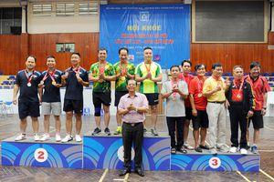 Báo CAND giành 2 HCV Hội khỏe Hội Nhà báo TP Hà Nội