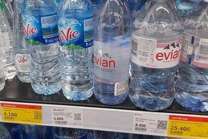 Thị trường nước đóng chai rục rịch tăng giá vì thiếu nước sạch?