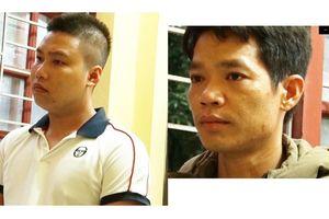 CA Hòa Bình bắt 2 nghi phạm đổ dầu thải vào nguồn nước sông Đà