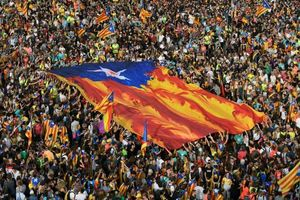 500.000 người biểu tình ở Barcelona chống án tù 9 lãnh đạo ly khai