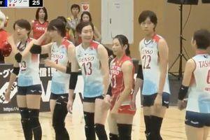 Trần Thị Thanh Thúy ghi điểm ở giải bóng chuyền nữ Nhật Bản