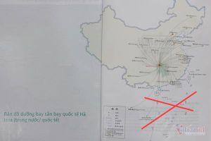 Saigontourist bị phạt 50 triệu đồng vì sử dụng ấn phẩm có 'đường lưỡi bò'