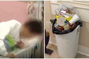 Phạt học sinh ăn rác bẩn, trường tiểu học bị ném đá dữ dội