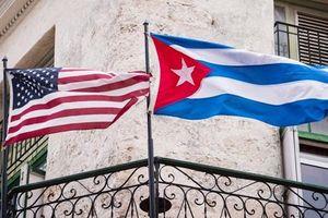 Mỹ siết chặt quy định xuất khẩu tới Cuba từ ngày 21/10
