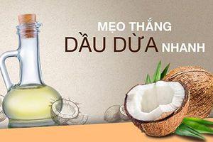 Những cách làm trắng da từ dầu dừa cực hiệu quả