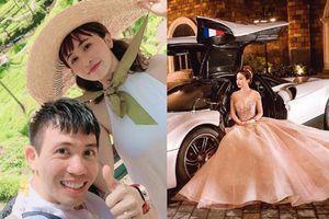 Mina Phạm khoe ảnh với siêu xe bên caption sưu tầm, ngó sang Minh Nhựa cũng làm 1 điều khẳng định cả 2 thuận vợ thuận chồng!