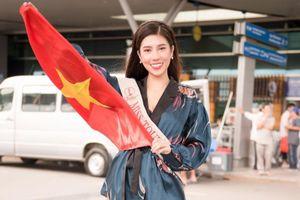 Dương Yến Nhung mang 8 valy hành lý sang 'chinh chiến' ở Philippines