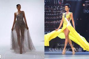 Hoàng Thùy đang 'ủ mưu' tái hiện cú xoay váy thượng thừa của H'Hen Niê trên sân khấu Miss Universe 2019