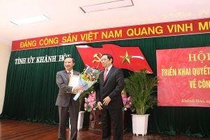 Khánh Hòa chính thức có tân Bí thư Tỉnh ủy