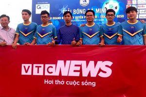 Khai mạc giải bóng đá tranh cúp GESO do CLB Doanh nhân Duy Xuyên tổ chức