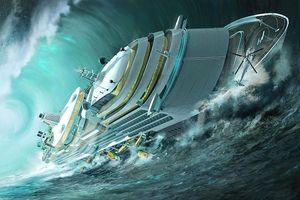 Những con sóng ma rình rập, nuốt trọn mọi tàu thuyền trên biển