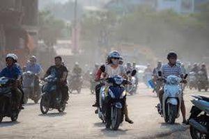 Chất lượng không khí Hà Nội vài nơi ở mức kém trong ngày cuối tuần