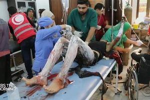 Trẻ em Syria bị bỏng nặng từ vũ khí phốt pho Thổ?