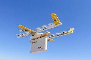 Google hoàn thành chuyến giao hàng bằng máy bay không người lái đầu tiên ở Mỹ