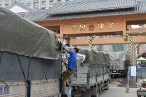Vì sao 500 xe nông sản Việt Nam bị 'tắc' ở cửa khẩu Tân Thanh?