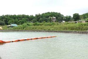 Trung tâm ứng phó sự cố tách dầu trong nước sông Đà