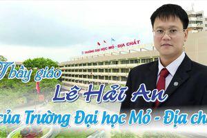 Trường ĐH Mỏ-Địa chất tổ chức lễ tưởng niệm Thứ trưởng Lê Hải An vào ngày 21/10