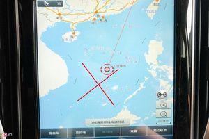 Công ty nhập xe Trung Quốc nhận lỗi vụ ô tô có bản đồ 'đường lưỡi bò'