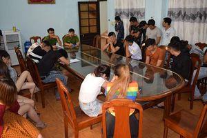 Gần 70 đối tượng 'phê' ma túy trong quán karaoke ở Quảng Nam