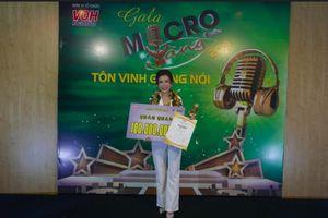 Chinh phục Trấn Thành và BGK, Yến Nhi trở thành quán quân Micro Vàng 2019