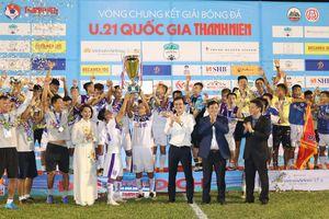 U21 Hà Nội giành chức vô địch giải bóng đá U21 Quốc gia