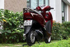 Honda Lead cũ biển số ngũ quý 5, thét giá gần 130 triệu đồng